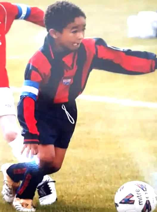 Reece James Childhood Photo