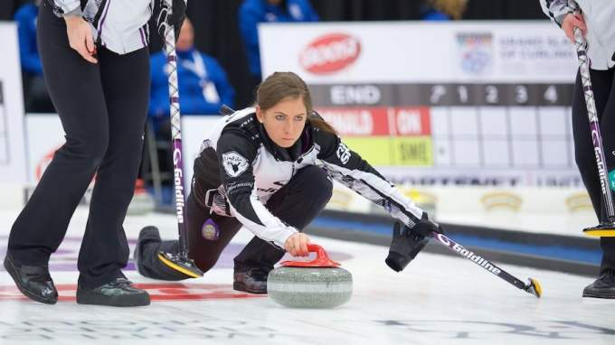 Photo of curling sport