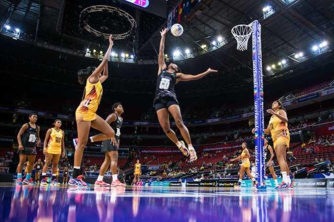 Photo of netball sport
