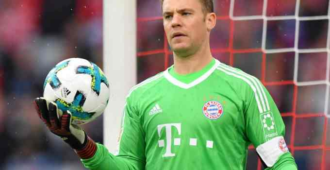 Photo of Manuel Neuer of Bayern Munich