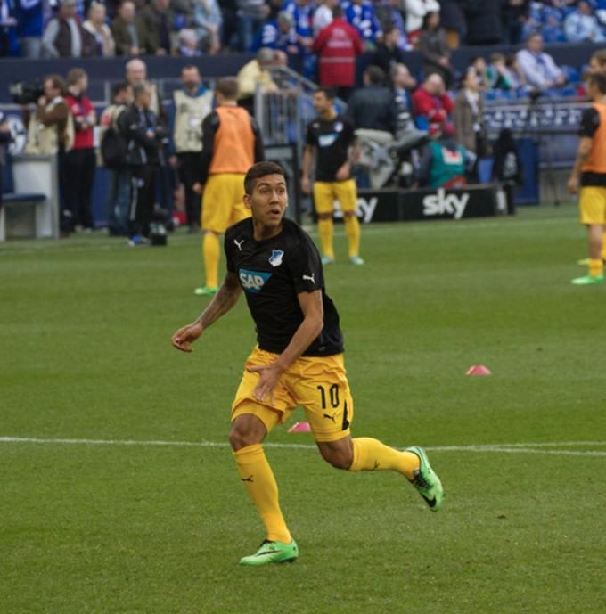 Photo of Roberto Firmino playing for Hoffenheim