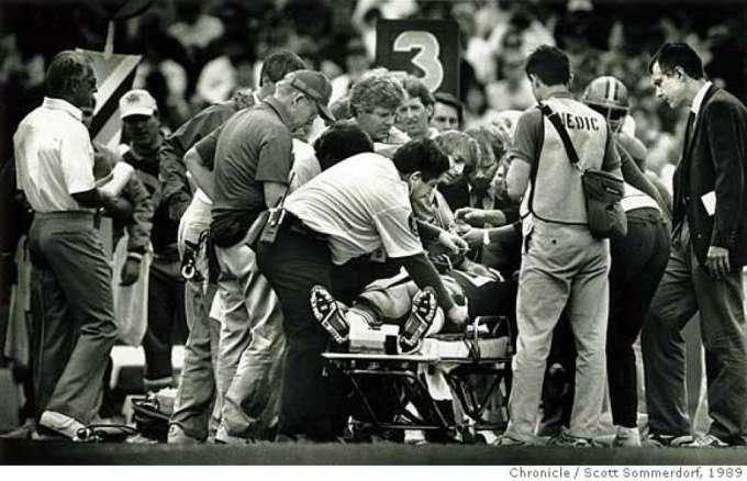 Jeff Fuller Injury in 1989