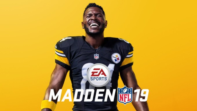 Madden NFL 19 - Antonio Brown - EA Sports