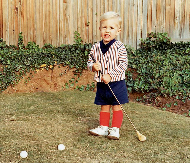 Phil Mickelson Childhood Photo