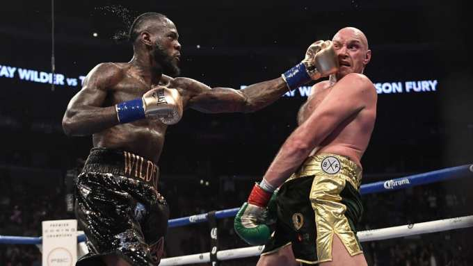 Photo of Deontay Wilder vs Tyson Fury