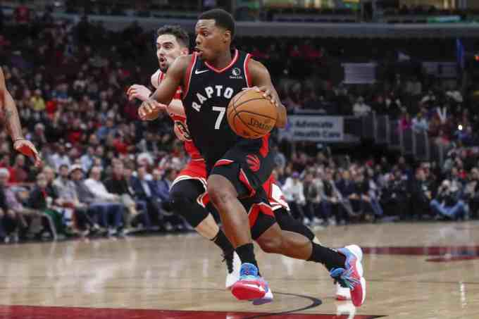 Photo Of Kyle Lowry In Action