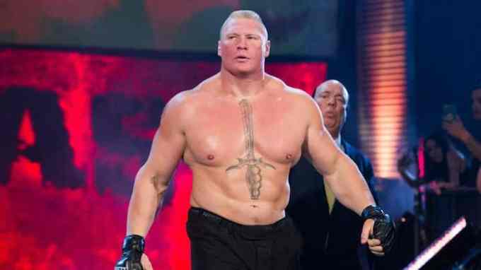 Photo of Brock Lesnar