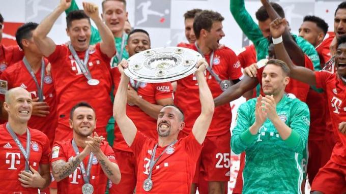 Bundes Liga Champions Bayern Munich