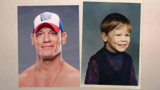 John Cena's Childhood Photo