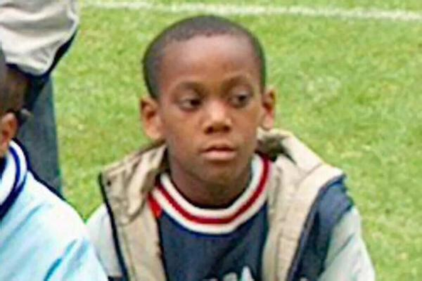 Anthony Martial Childhood Photo