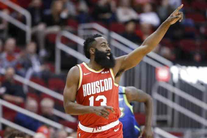 Photo of James Harden of Houston Rockets