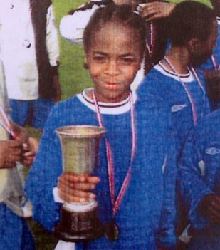 Raheem Sterling Early Childhood Photo