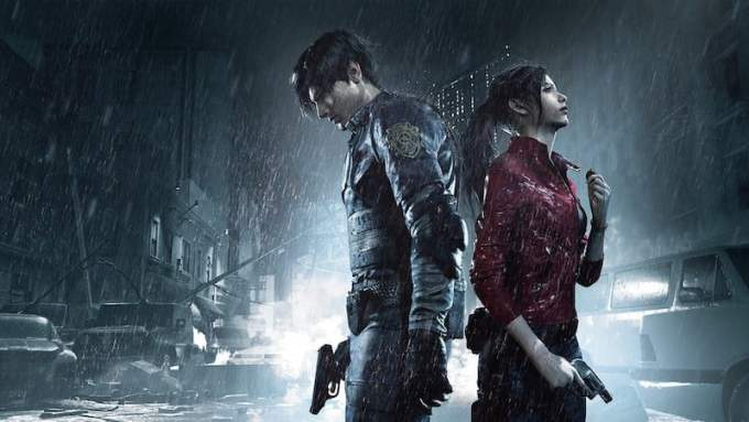 Resident Evil 2 PS4 PlayStation 4