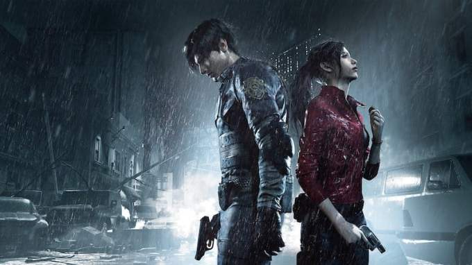 Resident Evil 2 PS4 PlayStation 4
