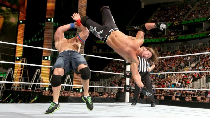 AJ Styles vs John Cena - Money in the Bank 2016