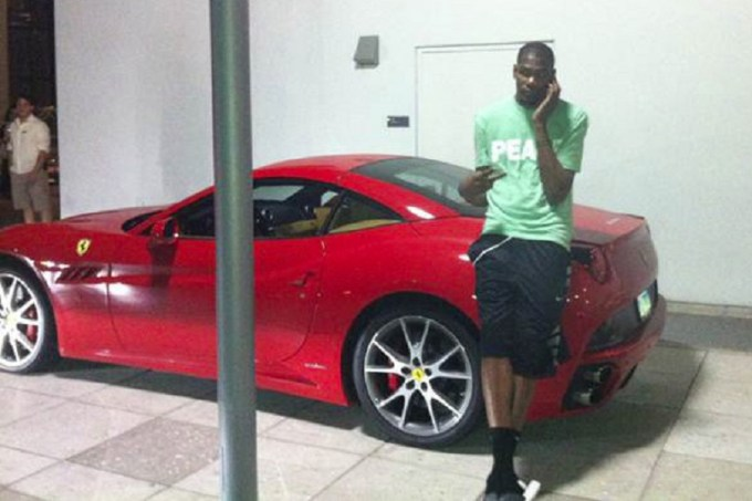 Kevin Durant Cars Collection