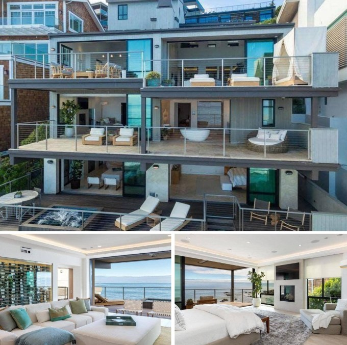 Kevin Durant Oceanfront Home in Malibu