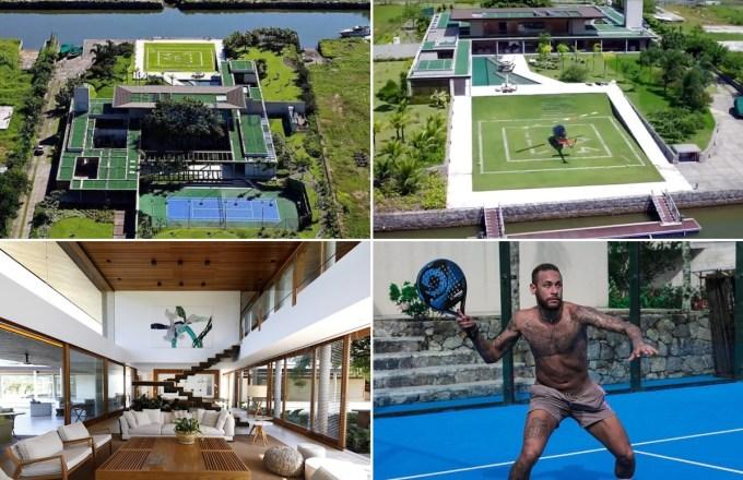 Neymar House is a Massive Mansion in Mangaratiba