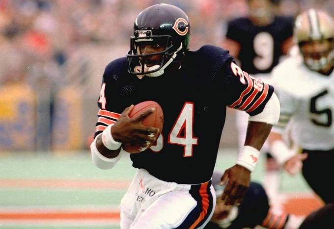 Walter Payton - Best Running Back