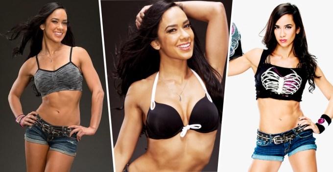 Hottest WWE Superstars - AJ Lee
