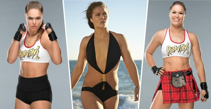Hottest WWE Superstars - Ronda Rousey