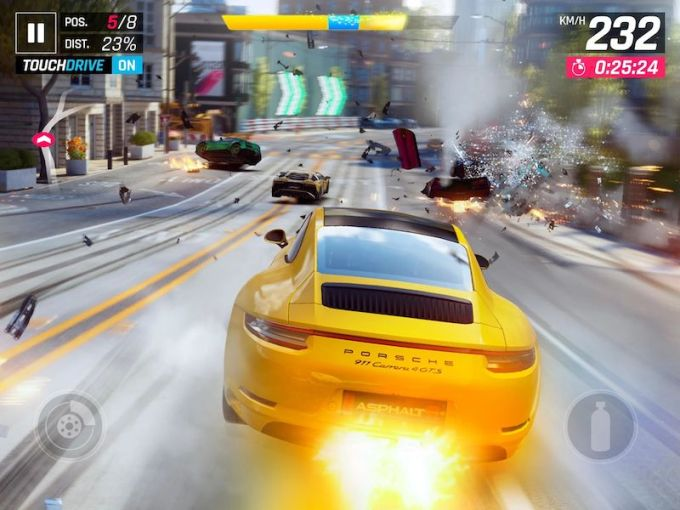 Asphalt 9 Legends for iOS and Android