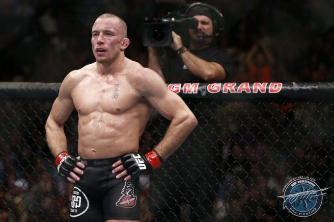 George St Pierre – Best UFC Fighter ever