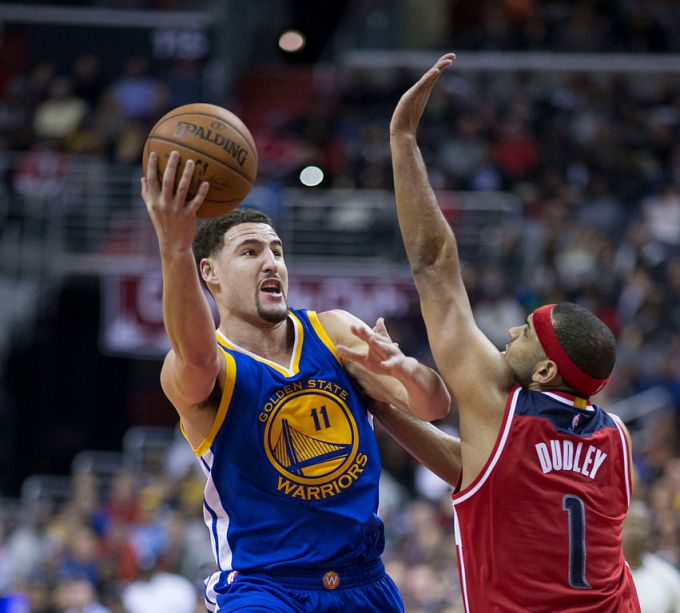 Klay Thompson vs. Jared Dudley