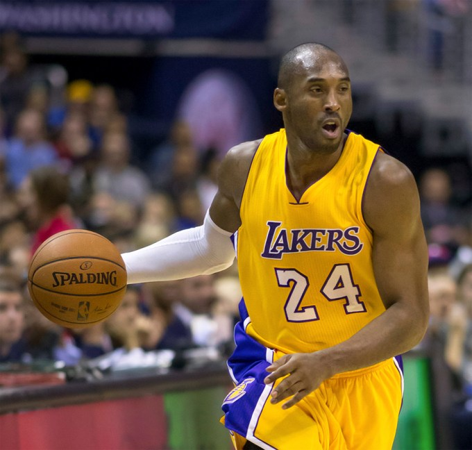 Kobe Bryant with Los Angeles Lakers