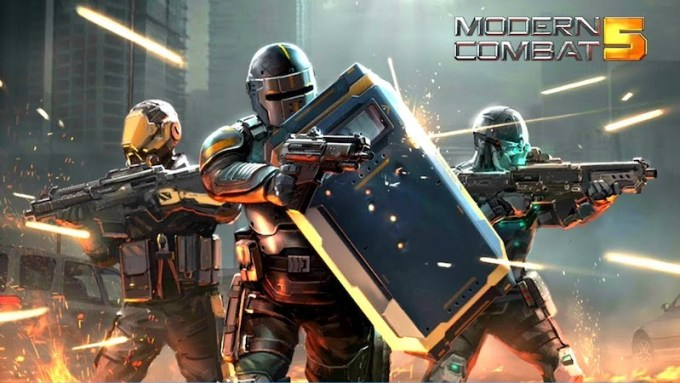 Modern Combat 5 for Android and iOS