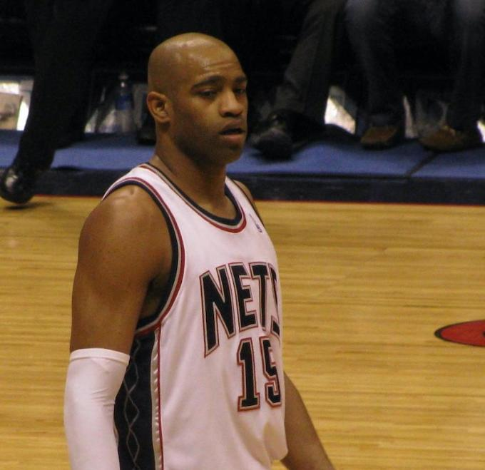 Vince Carter with New Jersey Nets
