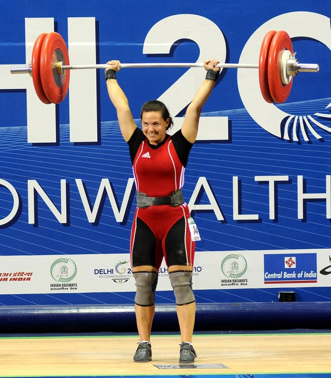 Christine Girard - 2010 Commonwealth Games