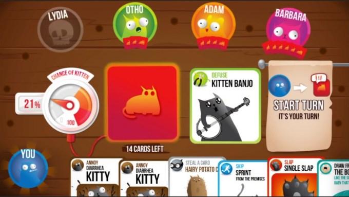 Exploding Kittens - Mobile Card Game