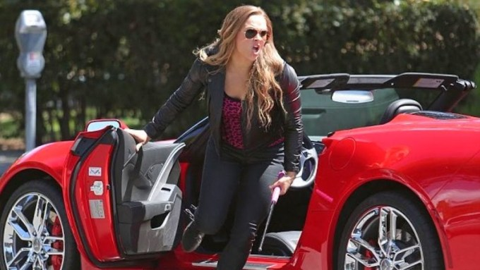 Ronda Rousey Cars Collection
