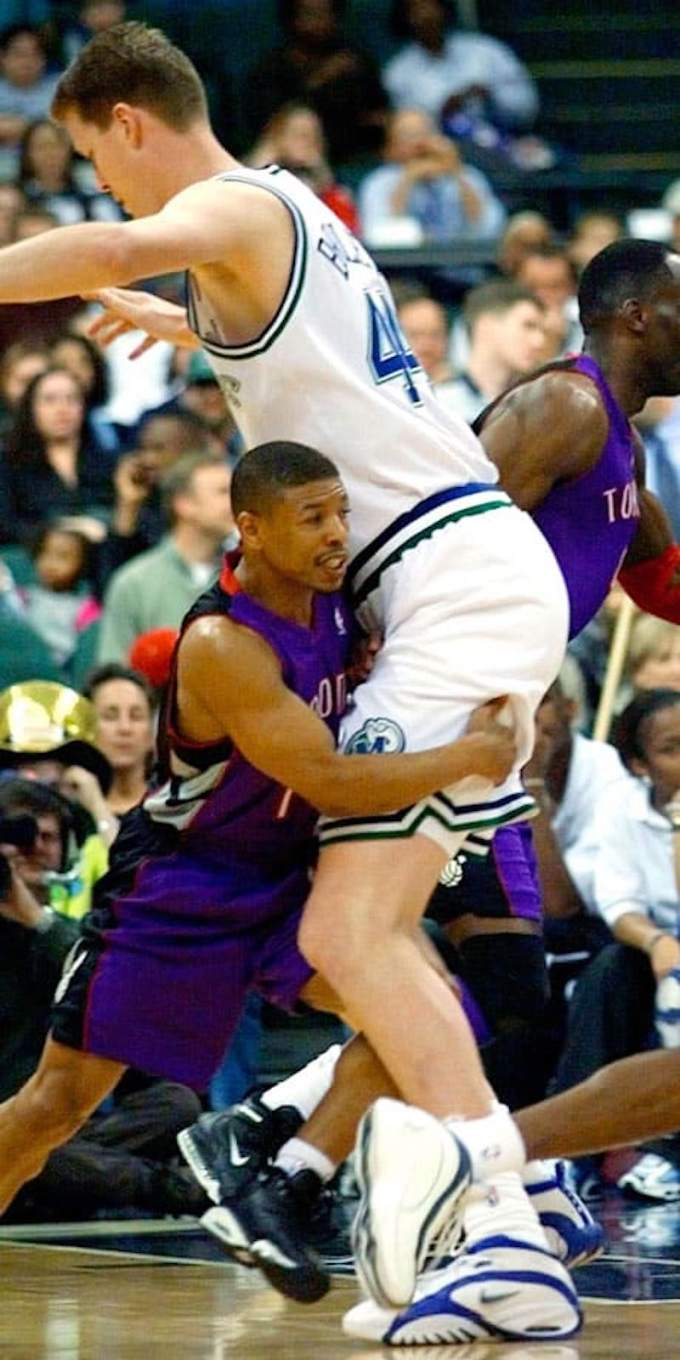Muggsy Bogues And Shawn Bradley