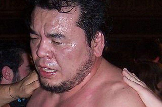 Mitsuharu Misawa died in the ring