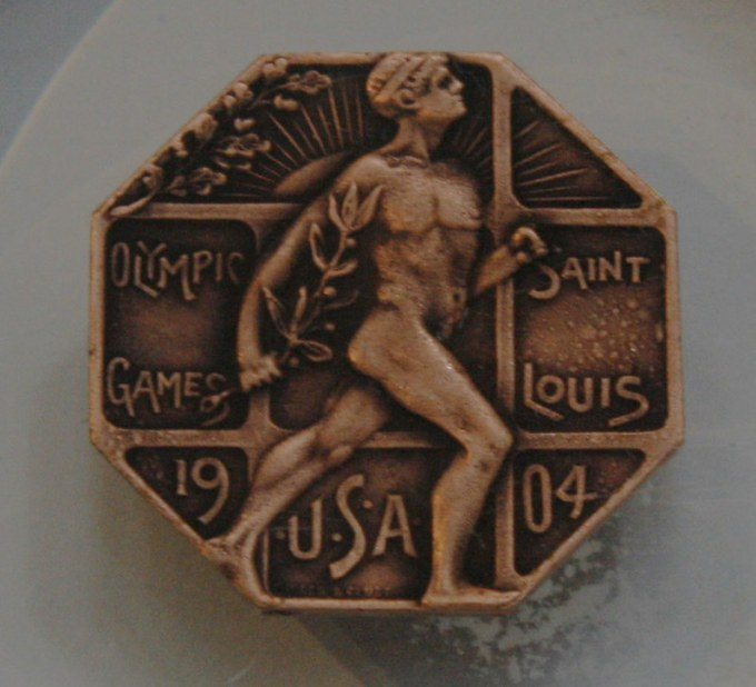 Olympic Facts: 1904 St. Louis Olympics Games Participation Medal