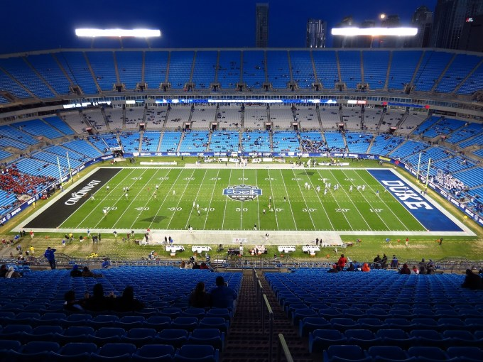 Biggest NFL Stadium – Bank of America Stadium