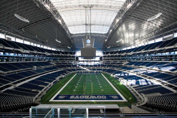 Biggest Nfl Stadium – Dallas Cowboys, At&Amp;T Stadium