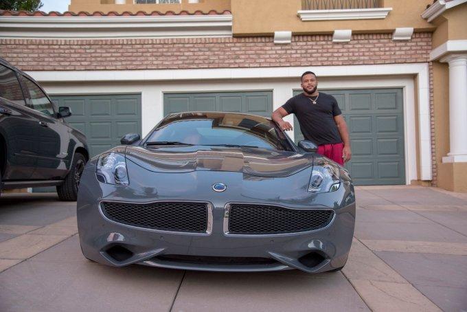 Aaron Donald's Karma Revero Car