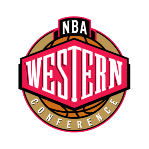 NBA Western Conference Transparent Logo