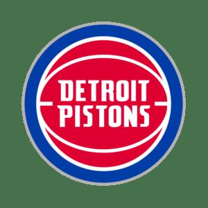 Detroit Pistons Transparent Logo