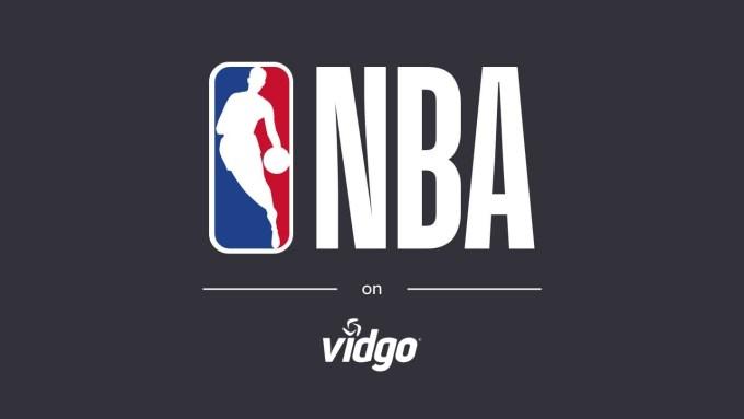 NBA on Vidgo