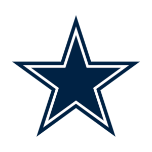 Dallas Cowboys Team Transparent Logo