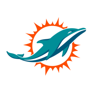 Miami Dolphins Team Transparent Logo