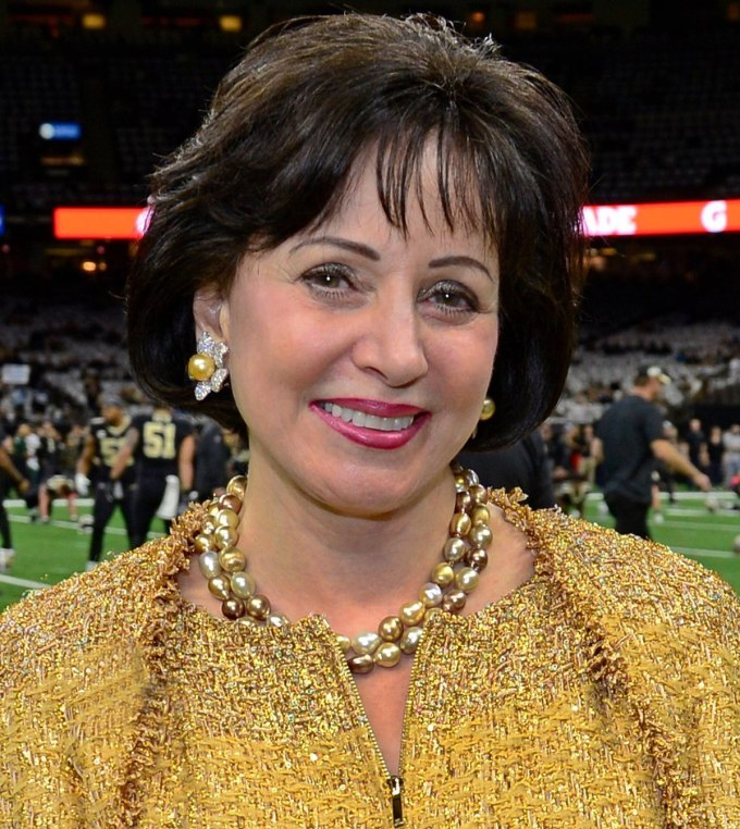 NFL's New Orleans Saints Owner, Gayle Benson