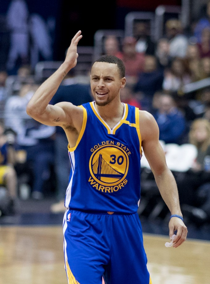 Golden State Warriors' Point Guard Stephen Curry