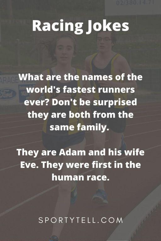 Funny Racing Jokes