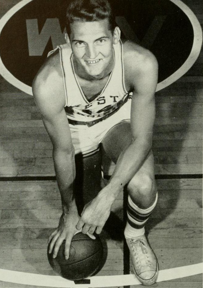 Jerry West at University of Virginia in 1959