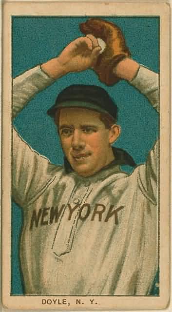 T206 Joe Doyle Corrected Baseball Card